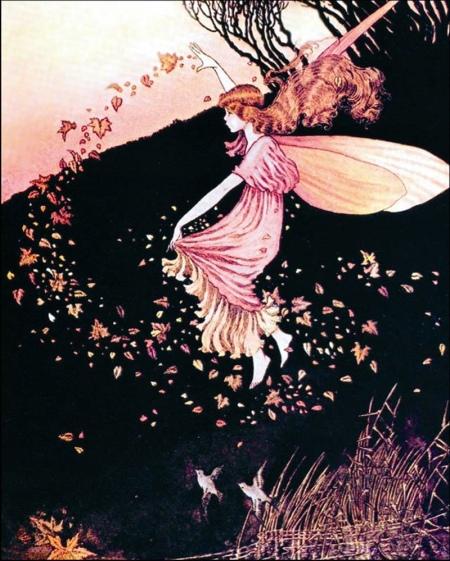 Autumn Angel. I.R. Outhwaite