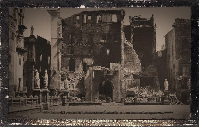 LeGray_ruines_Palerme_wikicommons_DearAgonyX_LL
