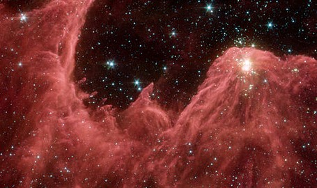 Majestic Mountains. By NASA/JPL-Caltech/L. Allen (Harvard-Smithsonian CfA) via Wikimedia Commons